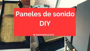 Paneles de sonido DIY